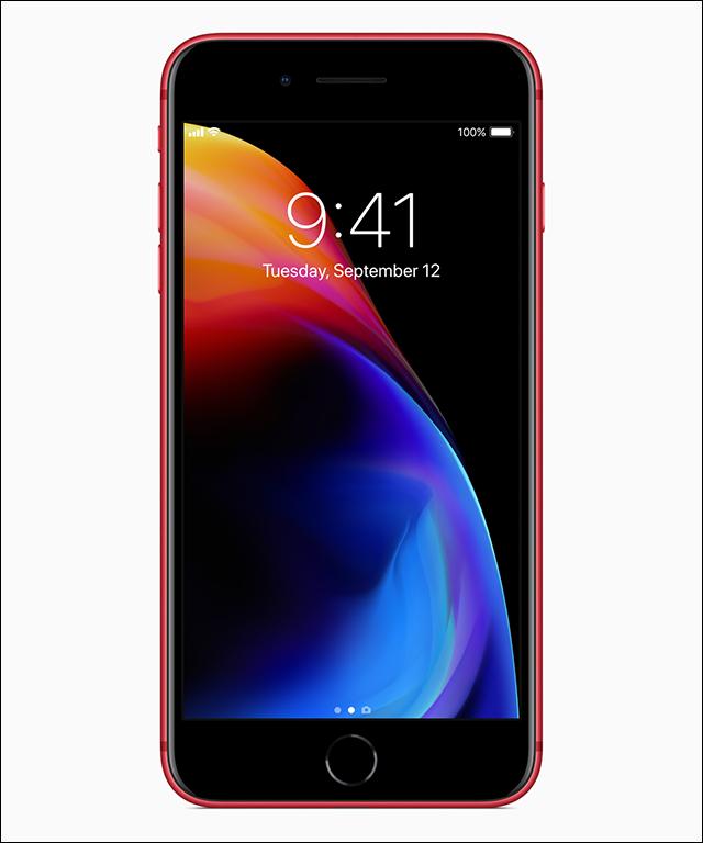 红色苹果iPhone 8 Plus上线,有点遗憾…