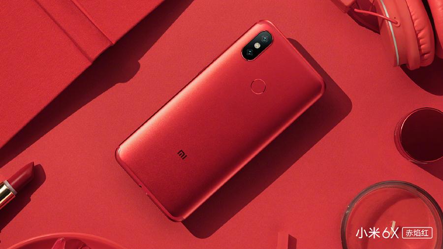 小米6X红色版组图抢先赏,好不好看?