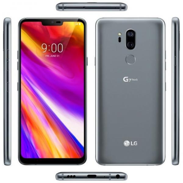 LG G7 360度全身照曝光 骁龙845还有刘海和下巴