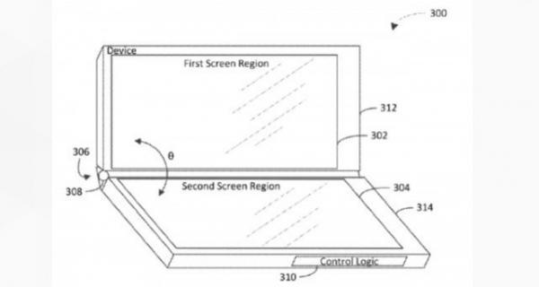 微软折叠屏幕手机再曝 这个设计好像在哪里见过