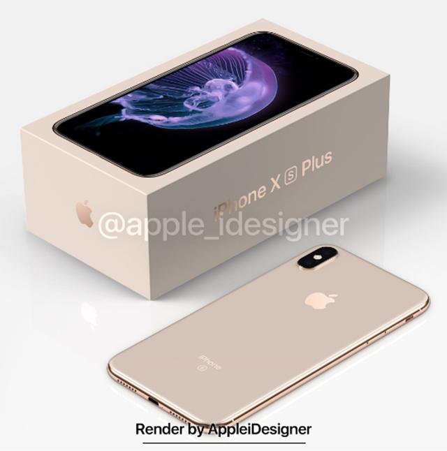 苹果iPhone X Plus渲染图流出,含包装盒,稳了!