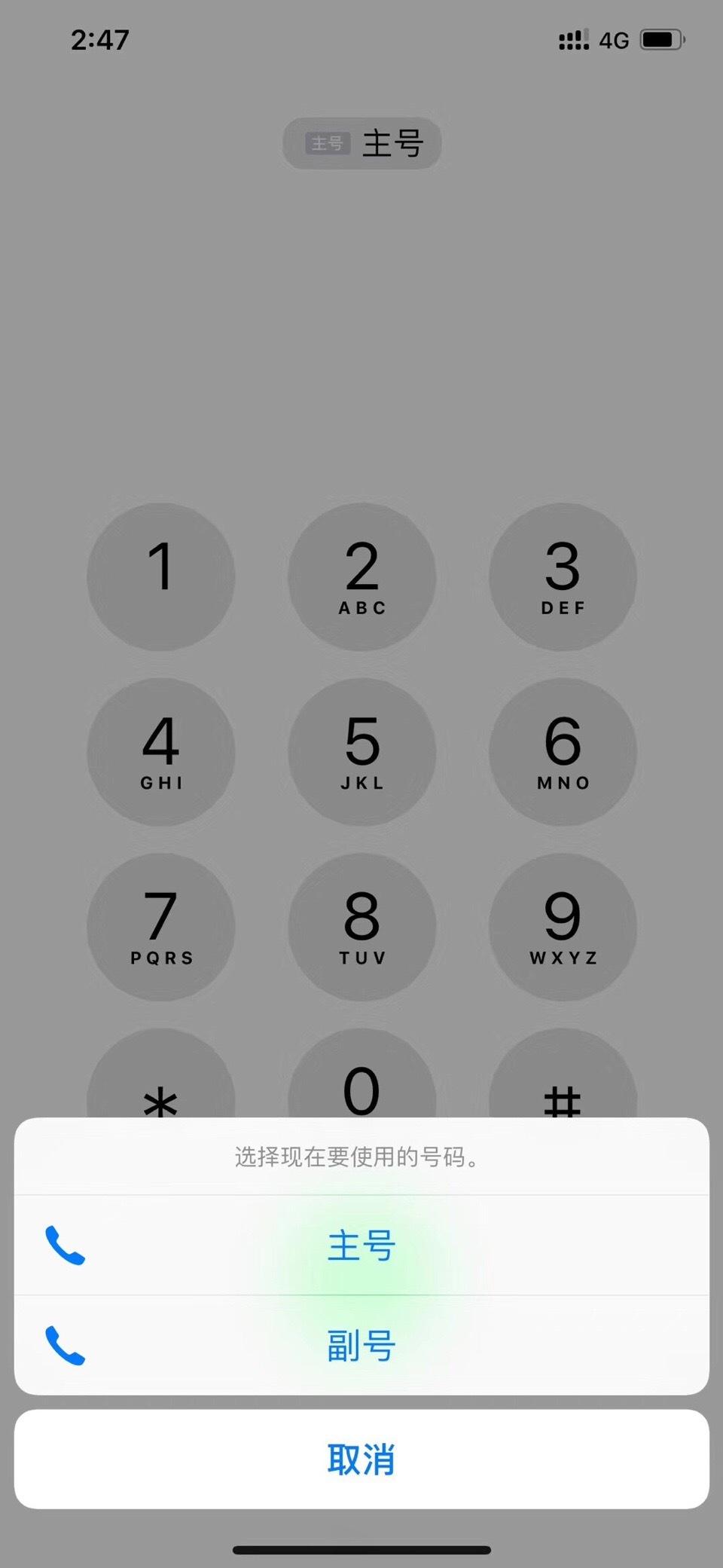 iPhone双卡图标曝光:原来是这样