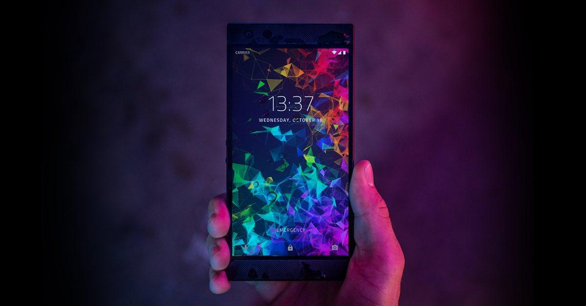 最强游戏手机:Razer Phone 2发布 屏幕逆天