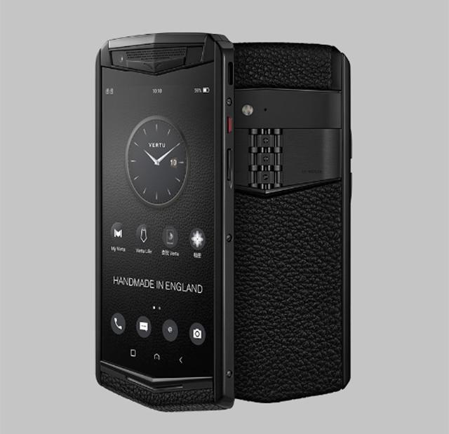 最高9.8万元 VERTU ASTER P哥特系列手机发布