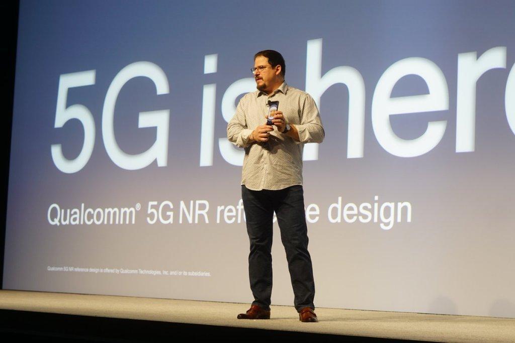 5G来了!高通参考设计样机亮相