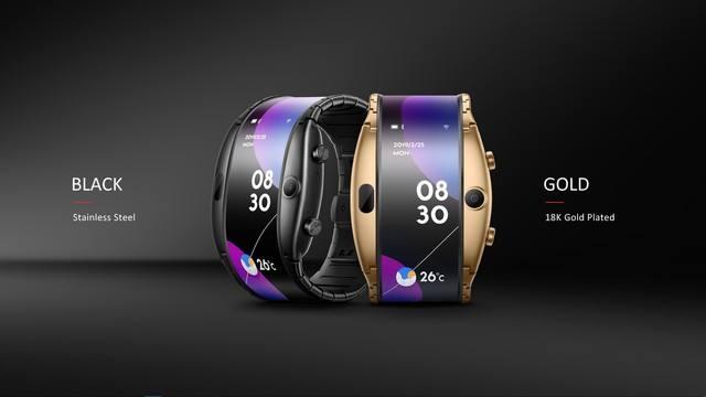 三星新专利曝光 柔性屏腕机设计