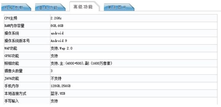 OPPO Reno标准版入网:骁龙710+8GB