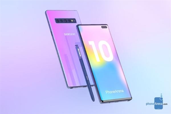 三星Note 10系列全曝光 两款支持5G