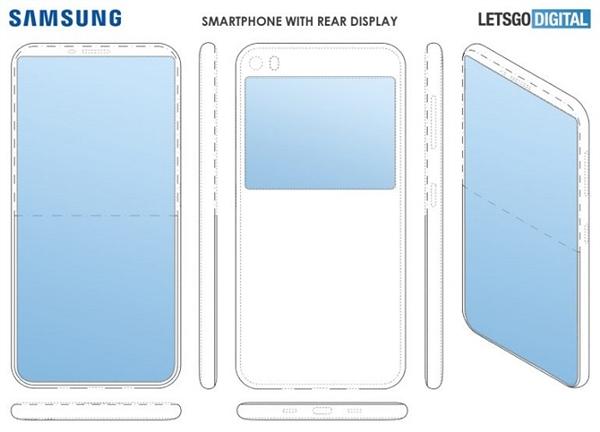 三星也要有双屏手机?专利曝光