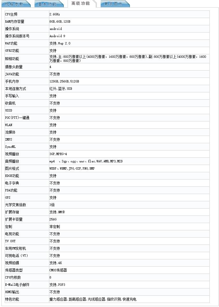 华为折叠屏Mate X入网:配置信息公布