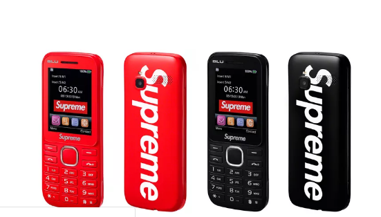Supreme推出3G功能机 比砖头有用
