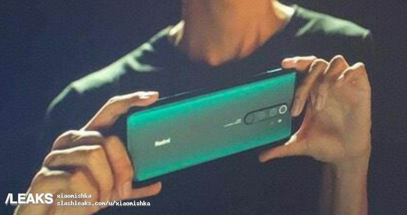 疑似红米Note 8 Pro真机曝光:颜值吸睛