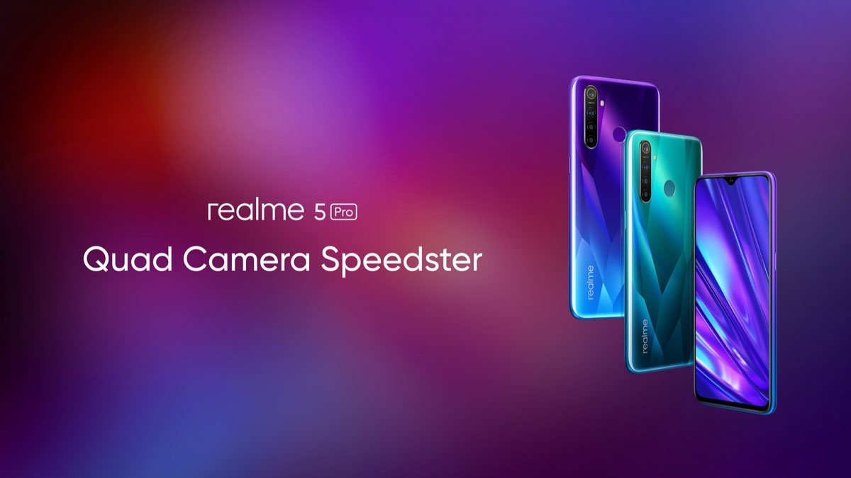 realme 5/5 Pro发布:后置全系四摄 最低不到千元