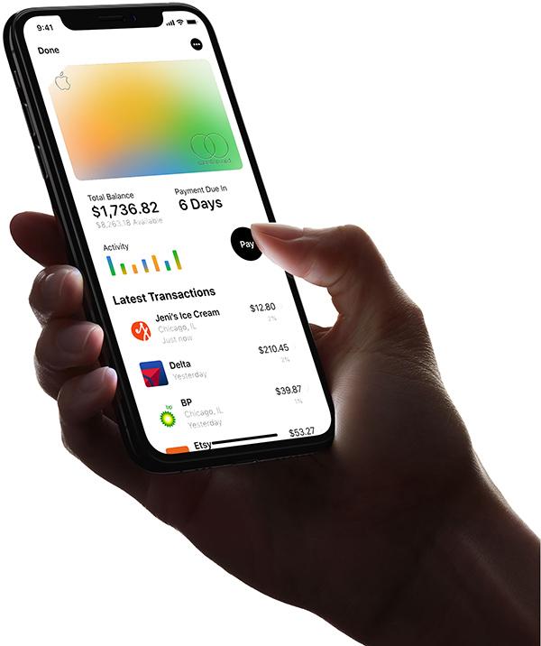 苹果Apple Card信用卡服务正式上线 国内暂时无缘