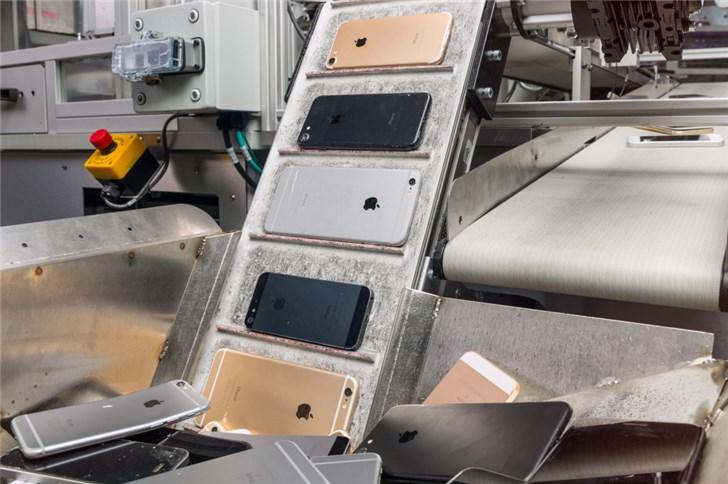 苹果推新技术 可使坏掉的iPhone循环再生