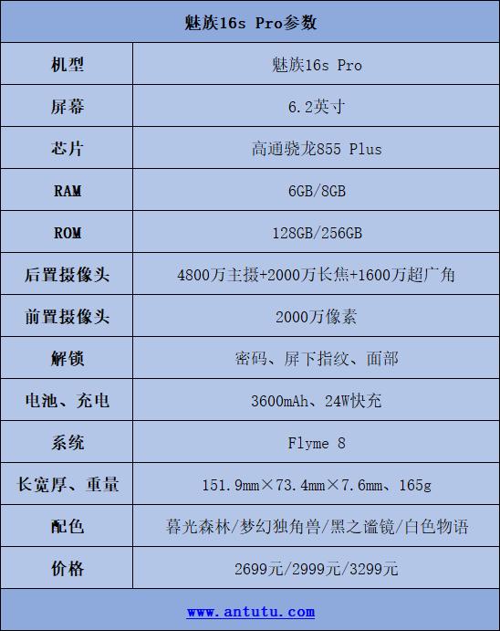 魅族16s Pro