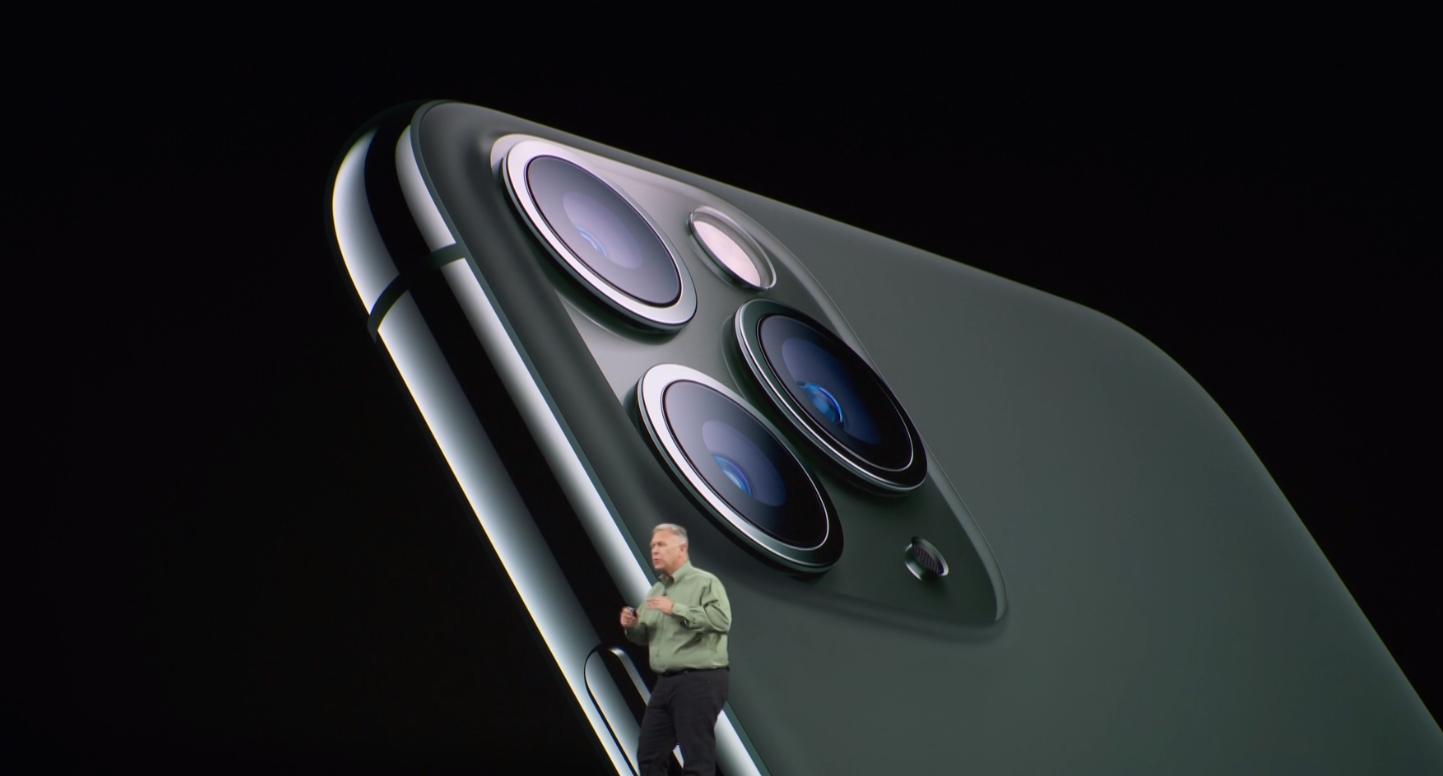iPhone 11 Pro发布:浴霸三摄加持 新增绿色