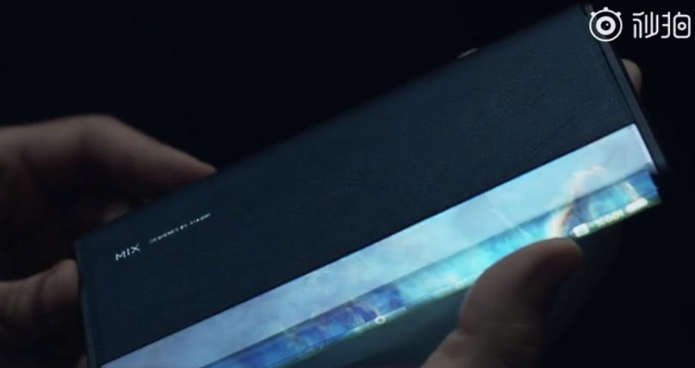 小米MIX Alpha开箱视频公布:原装保护套吸睛