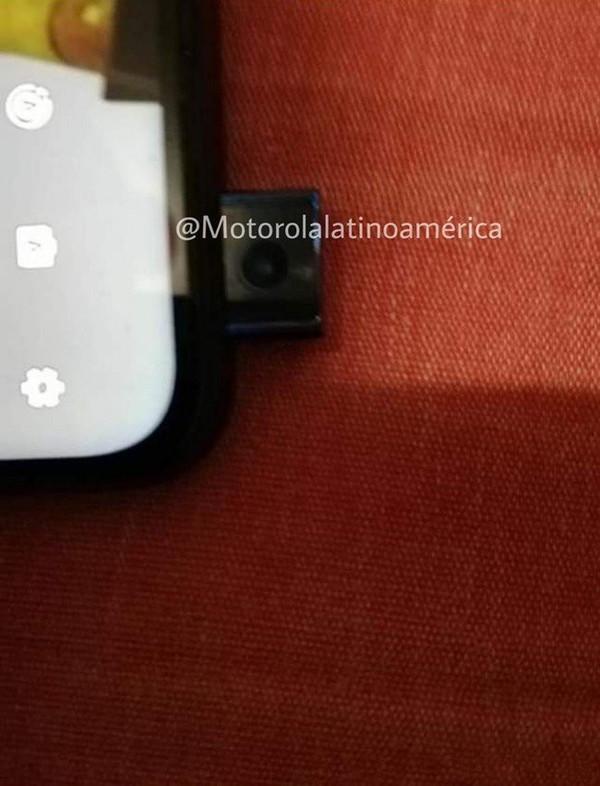 摩托罗拉新机曝光 后置指纹亮了