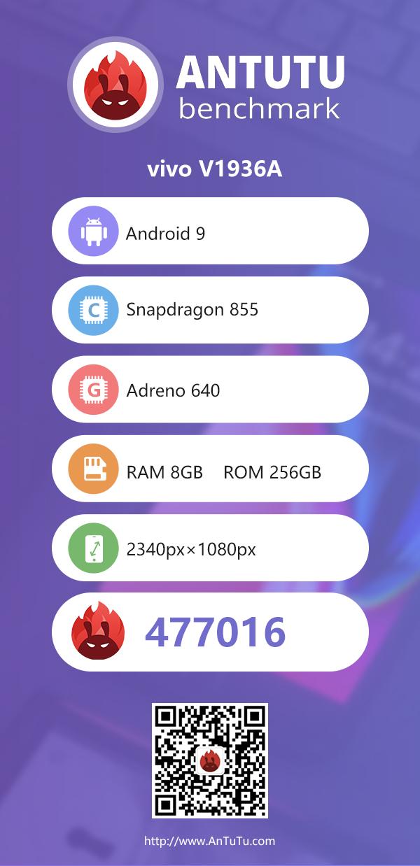 vivo新機跑分曝光:最強驍龍855手機