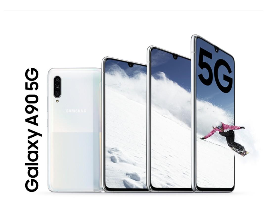 三星最大旗舰店开业 现场发布5G手机
