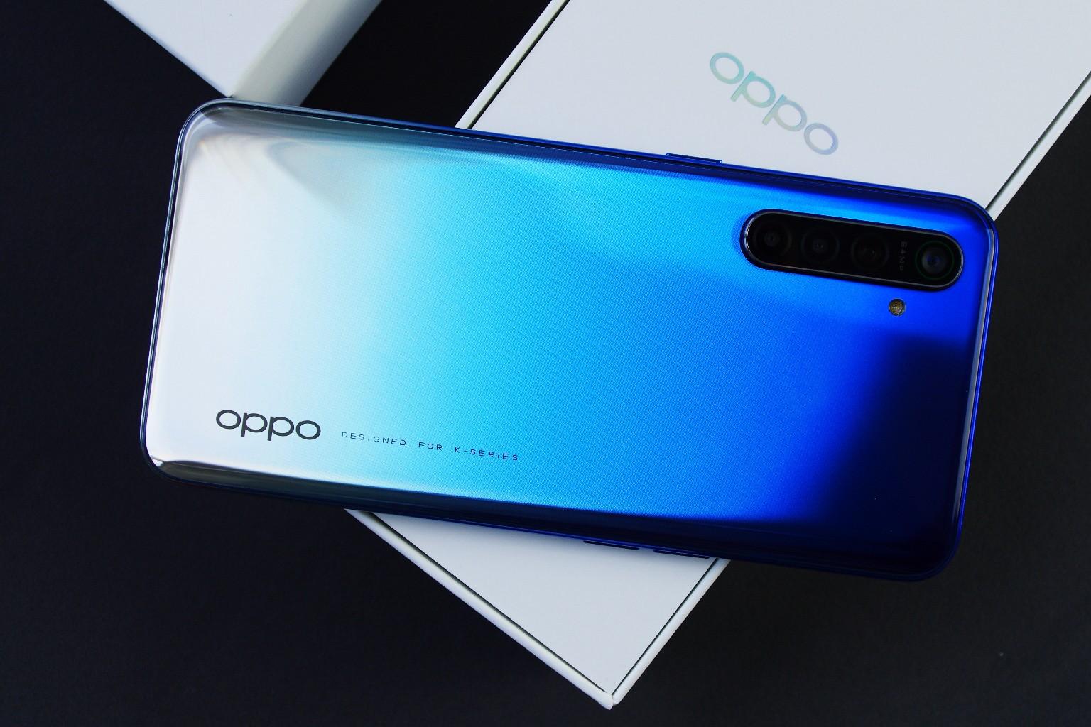 OPPO K5评测:游戏拍照闪冲样样俱全的硬核千元机