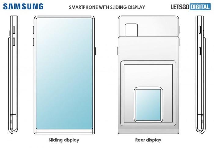 新專利:三星S11或采用滑蓋屏+屏下鏡頭