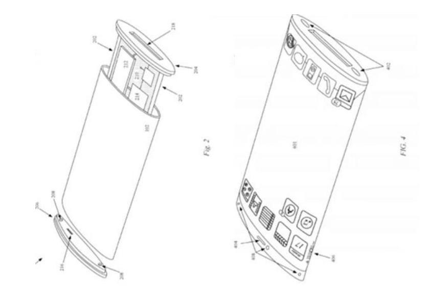 向小米学习?苹果环绕屏新专利曝光