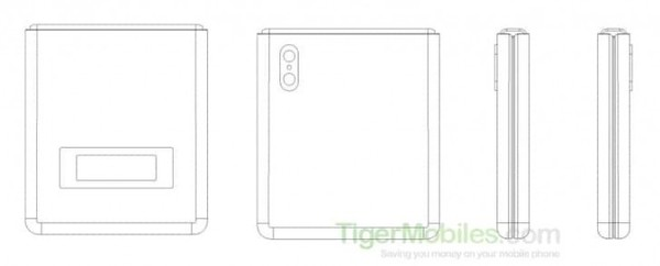 全新的折叠方式 小米折叠屏手机专利曝光