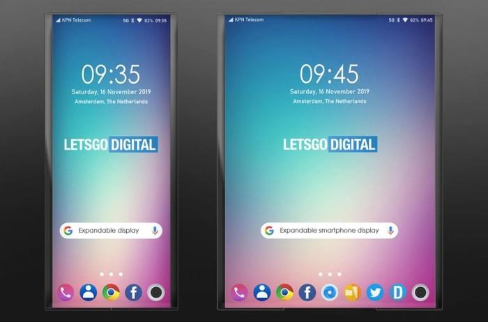 LG带来新的变形手机屏幕:伸缩式
