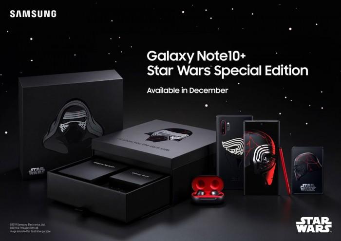 三星推出Note10+星球大战特别版:1299美刀