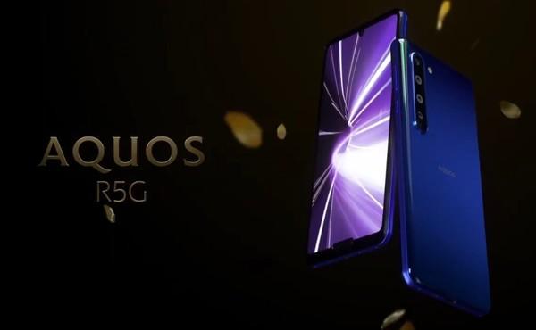 夏普发布5G手机 顶级LCD屏幕加持