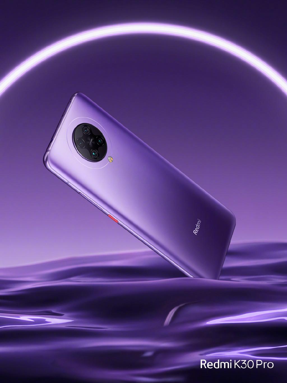 Redmi K30 Pro全新配色亮相:感受下