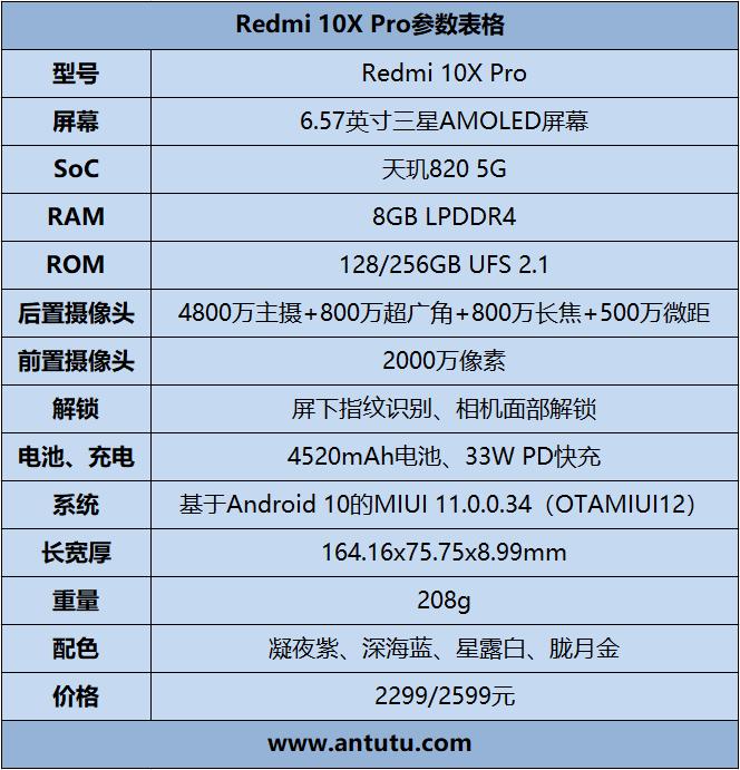 Redmi 10X Pro评测:性能拔萃 不负期待
