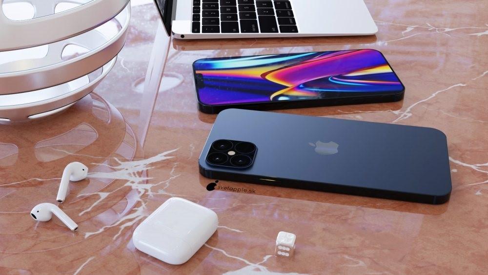 iPhone 12 Pro概念設計:海軍藍配色