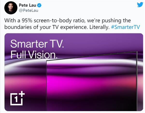 一加电视再推新品 旗舰级设计