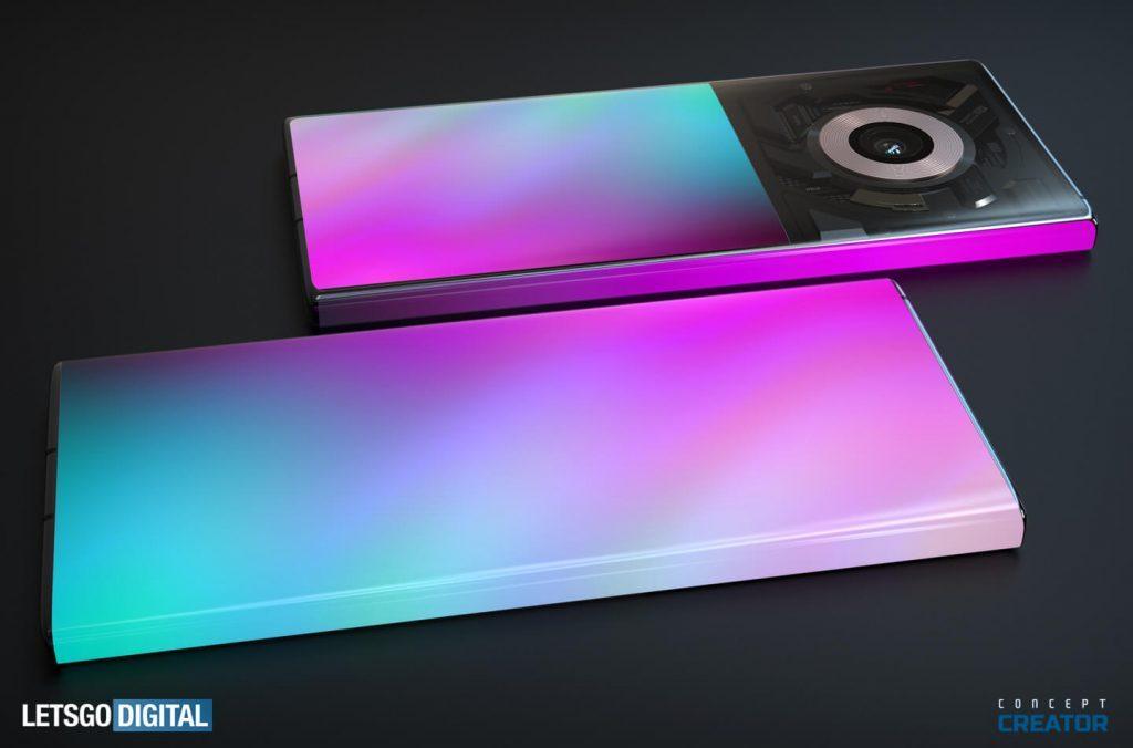 造型夢幻!小米MIX概念機渲染圖:大曲率屏、巨大單攝