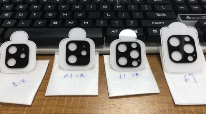 iPhone 12镜头保护贴曝光:密集恐惧症警告