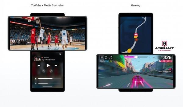 LG双屏手机正式发布 重量半斤多