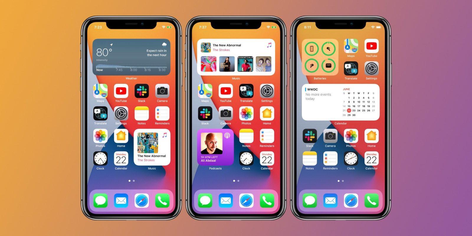 iOS 14正式版官宣:即将推送