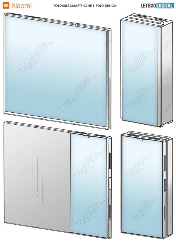 小米折叠屏新机专利曝光 瞬间屏幕变大三倍