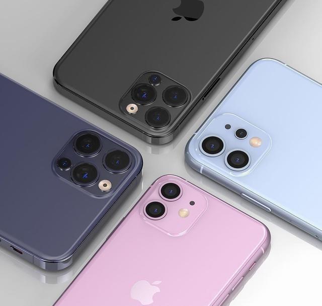 官方套贴纸曝光 iPhone 12 mini实锤