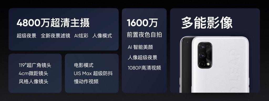 价格揭晓!realme真我Q2系列发布:65W超闪+120Hz屏