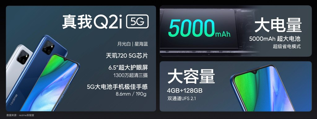 realme真我Q2i发布:售价998元!