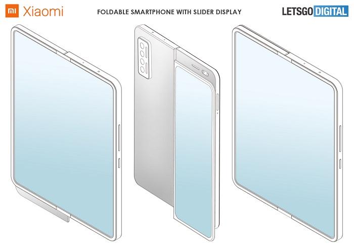 小米折叠屏专利曝光 折叠屏+侧滑屏二合一