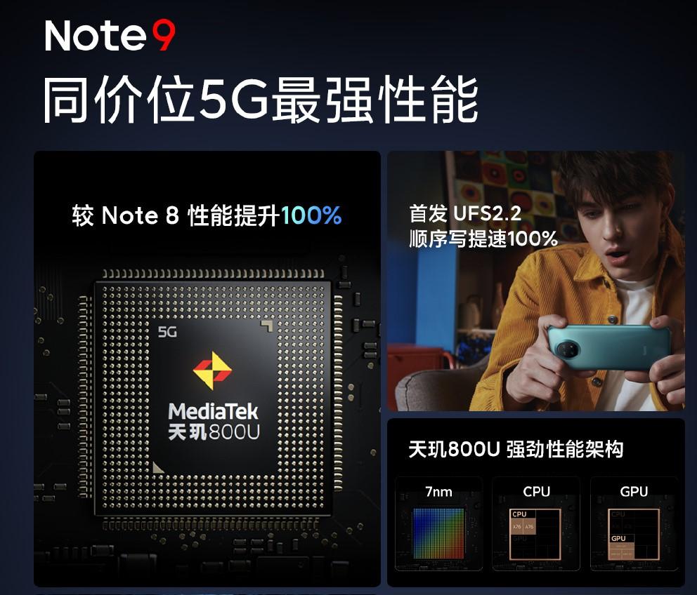 999元起!Redmi Note 9系列发布:性能大提升、千元神机