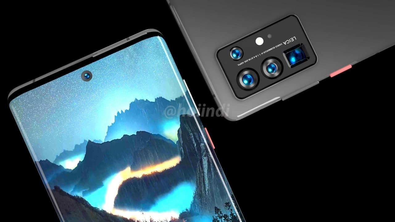 麒麟9000加持 华为P50 Pro渲染图曝光:颜值感受下
