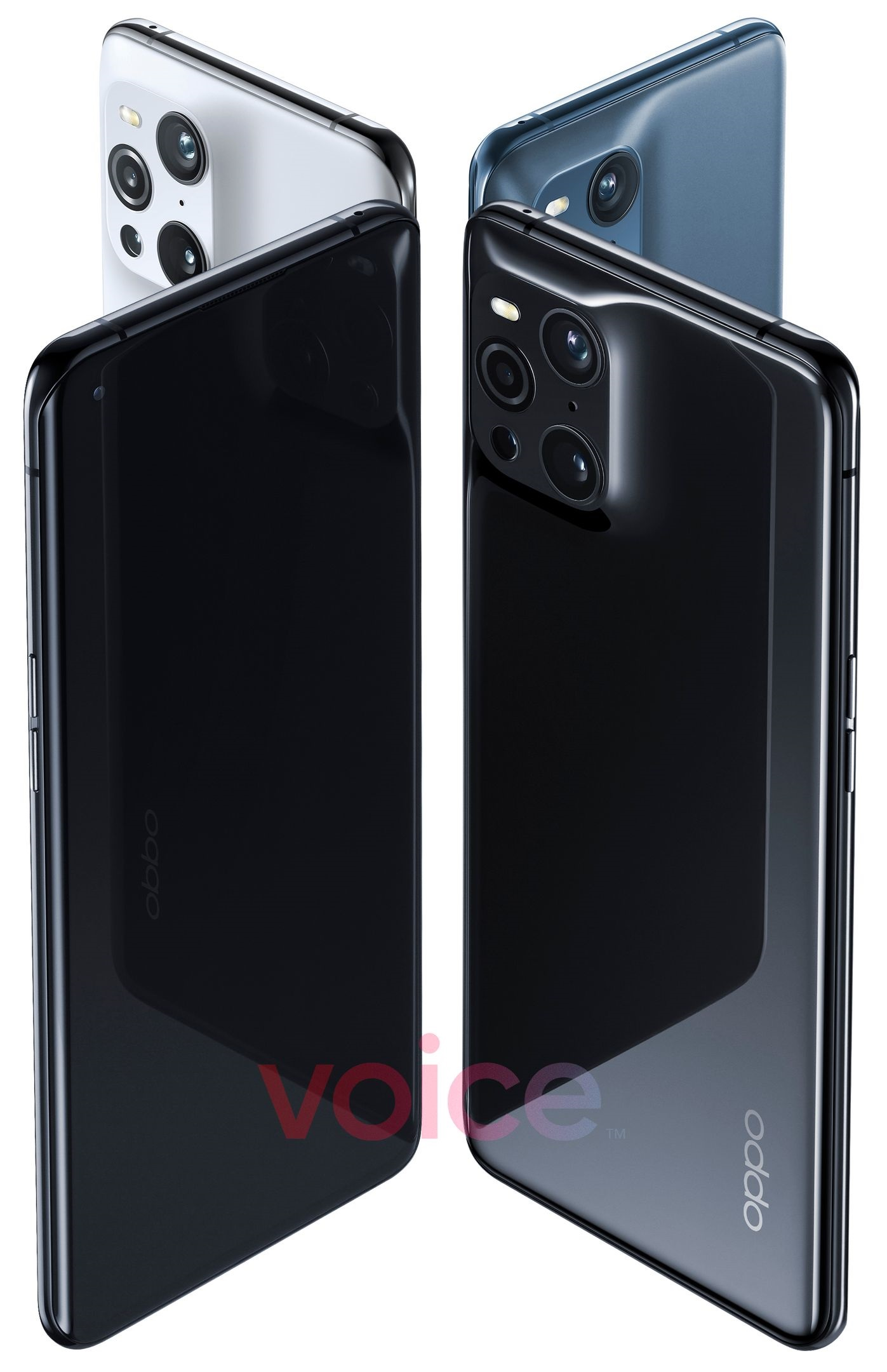 OPPO Find X3 Pro渲染图曝光:火山口四摄