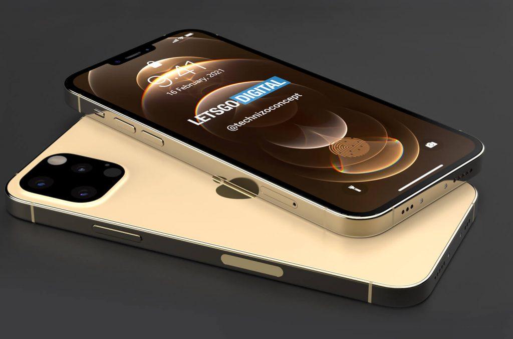 iPhone 13 Pro渲染图曝光:充电接口没了