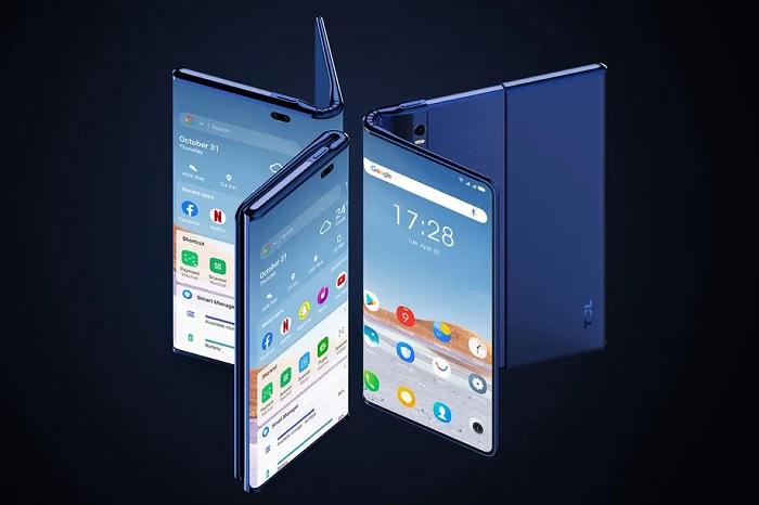 TCL展示全新手机设计 屏幕可变形两次